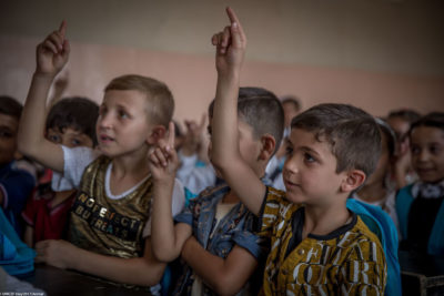 Roma village in Iraq gets its first school in 14 years