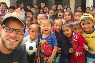 Meet the man who ran seven ultra marathons on seven continents to help build seven schools