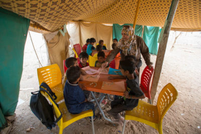 Funding gap means cuts to education programmes for Syrian refugees in Jordan