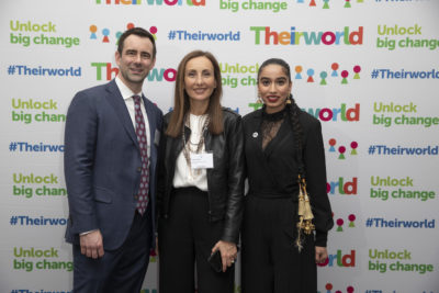 How to Unlock Big Change is theme of Theirworld International Women's Day event