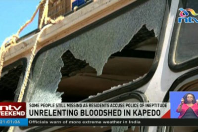 Three children shot dead by bandits on their way to school in Kenya