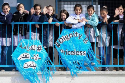 UNRWA needs more funding help to protect education for 525,000 Palestinian children