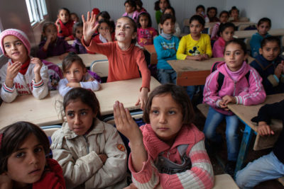 Classes reopen for 150,000 Syrian refugee children in Lebanon after funding fears