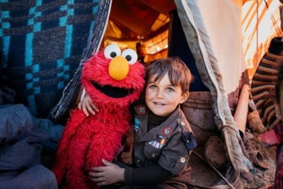Sesame Street and LEGO to help young refugee children learn through play