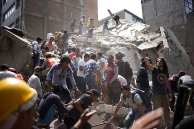 19 children killed, no more missing at Mexican school destroyed by earthquake
