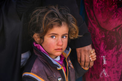 Traumatised and out of school, the child victims of the Battle of Mosul