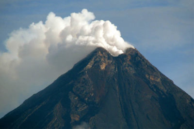 Erupting volcano disrupts education for thousands of Filipino children