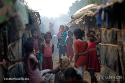 Over half of Rohingya girls who fled Myanmar became child brides says UN agency