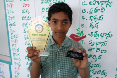 Naveen goes from child labourer to schoolboy and prize-winning inventor