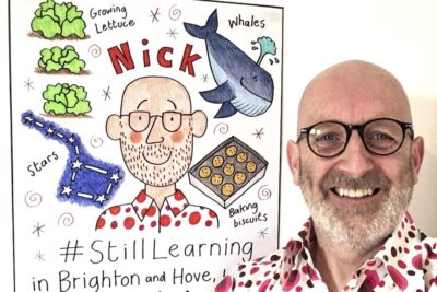 Illustrator Nick Sharratt asks children to show how they are #StillLearning during schools shutdown