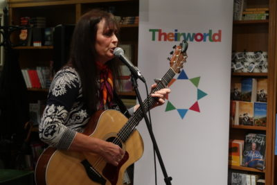 Busker Nicola's song inspires Theirworld's Syrian refugee video