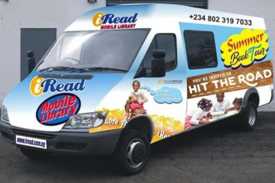 Mobile library gives Nigerian schoolchildren a love of reading