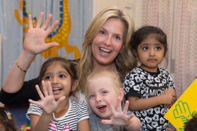 Penny Lancaster backs #5for5 campaign for early years care
