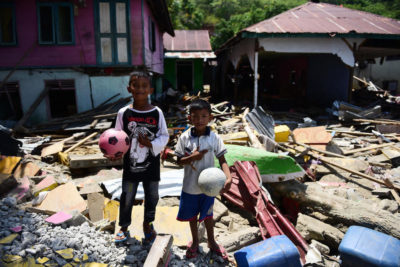 Safe Schools: getting children back into education after disaster strikes