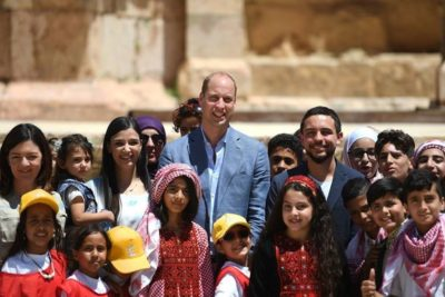 Prince William hears about need for early learning programmes for Syrian refugee children