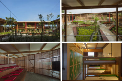 School on edge of Brazilian rainforest wins prize for the world's best new building