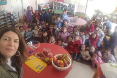 How Lebanon is giving very young Syrian refugees the skills they need for school