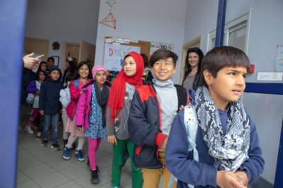 Theirworld awarded 1.35m euros for emergency refugee education on Greek islands