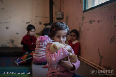 Toxic stress in war zones is harming development of millions of young children