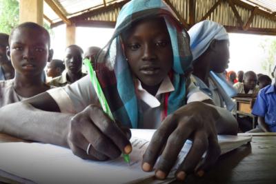 Half of the world's refugee children don't go to school