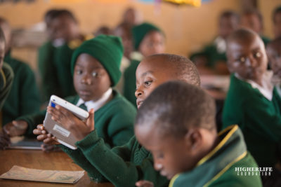 Digital learning service is helping a million children at school and home in Zimbabwe