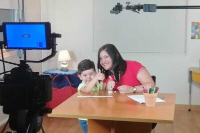 Videos help children with special educational needs to learn during Lebanon lockdown
