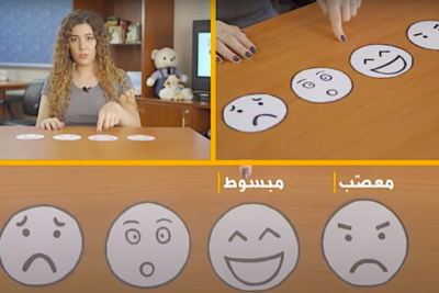 Amazing success of lockdown videos for children with special educational needs in Lebanon