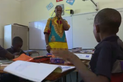Migrant children taught by migrant teachers thrive at free classes in South African private school