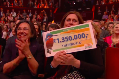 Theirworld to get 8.5m euros from Dutch Postcode Lottery to deliver education in emergencies
