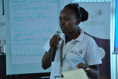 """Being a Global Youth Ambassador has helped me to impact girls in Uganda"""
