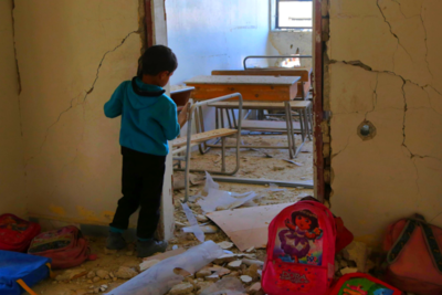 80 countries sign pledge to protect schools from attack - and more are urged to join