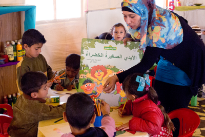 Sesame Street's early learning project for refugees wins $100m competition