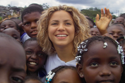 Shakira: help me persuade world leaders to send every child to school