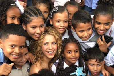 'A school opens and the world changes' says education champion Shakira