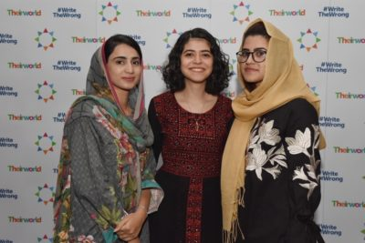 Girls' education under attack: youth activists share inspiring stories at Theirworld's International Women's Day event