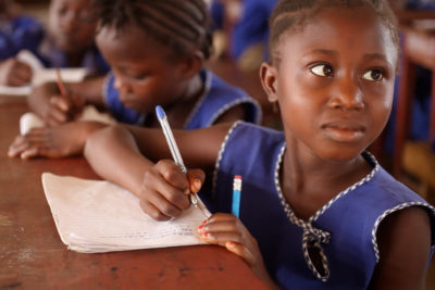 Free education starts in Sierra Leone - but lack of space is a problem at some schools