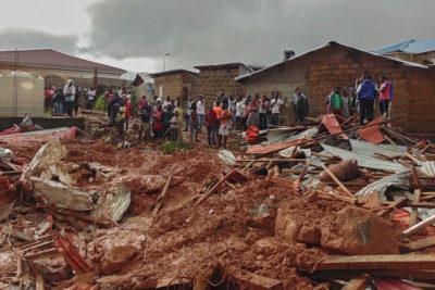 Children made homeless by Sierra Leone mudslide will be helped back to school