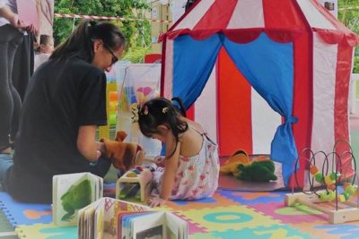 Preschool children take part in language development trial in Singapore