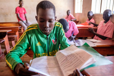 Education crucial for children caught in the world's fastest-growing refugee crisis in Uganda