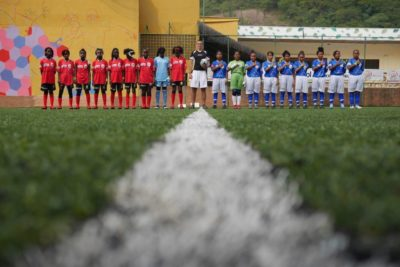 Street children from across the world meet up at this year's other World Cup