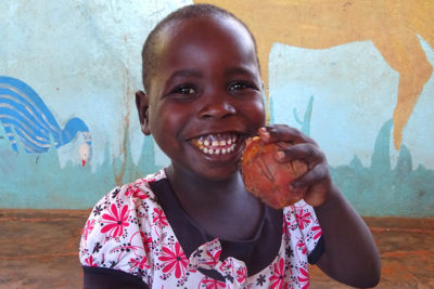 Sweet potato project gives vital vitamin boost to preschool children in Malawi