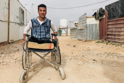 Seven years of Syrian conflict leaves thousands of children and young people with disabilities