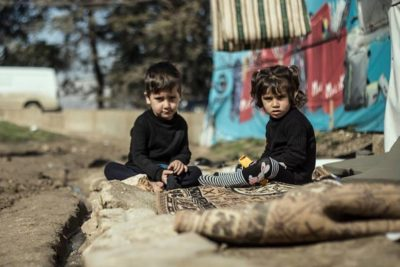Seven years of conflict, seven moving and inspiring images of Syrian children