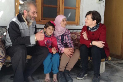 Three years after tragedy struck her family, Bara'aa is back at school in Syria and top of her class