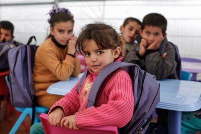 280,000 Syrian refugees still out of school in Lebanon - and many work to feed their families
