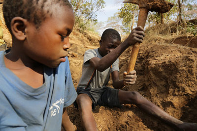 Tanzania struggles to get child labourers out of gold mines and into school