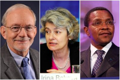 Theirworld honours three leaders for their outstanding work on education