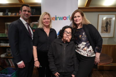 'We're trying to dream very big dreams': Theirworld holds event for supporters