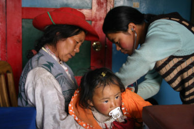 Health clinic in remote Tibet is saving lives of mothers and young children