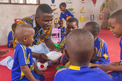 Children in danger of being left behind as too few countries offer free pre-primary education
